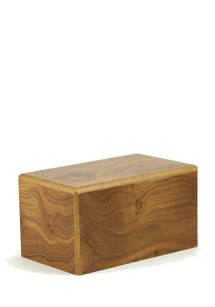Medium Kist Urn of Sokkel Urn Naturel (1.5 liter)