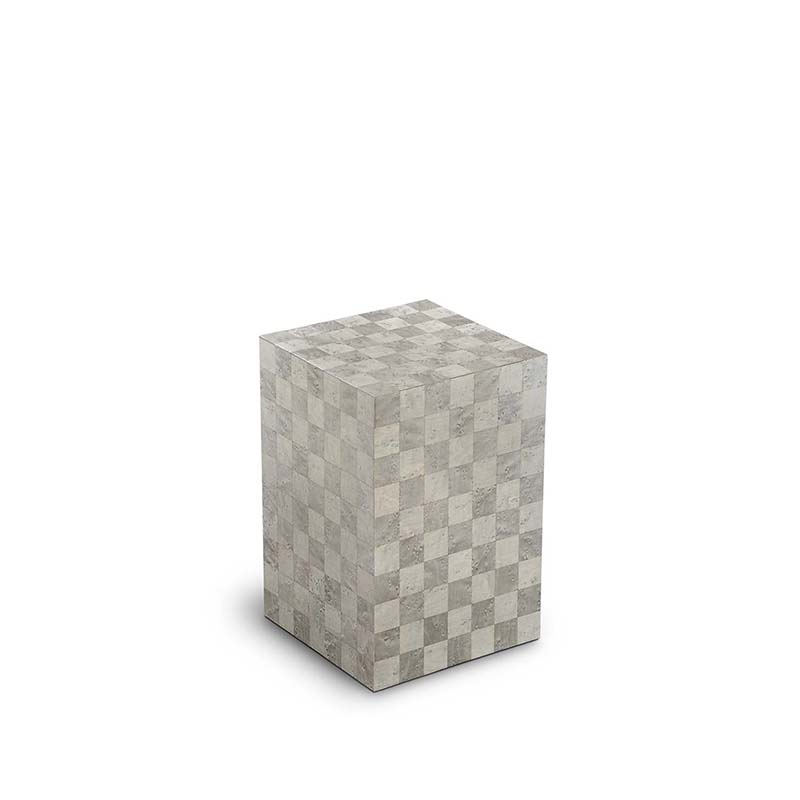 Kleine Rechthoekige Urn Memoria Quarzo (1.7 liter)