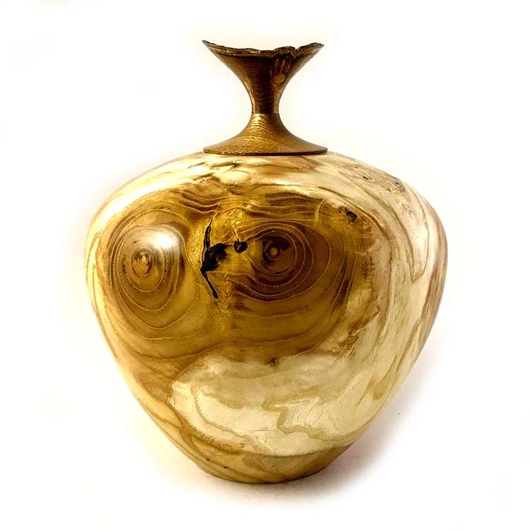 Herinneren in Hout Urn uit Moerbei (2.8 liter)