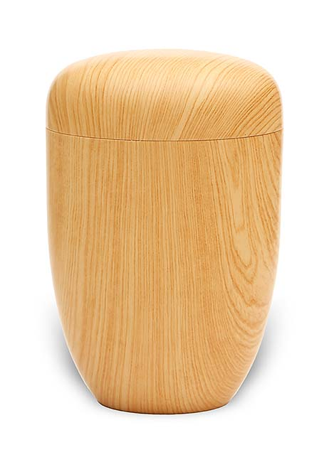 Designer Urn met Hout-Look (4 liter)