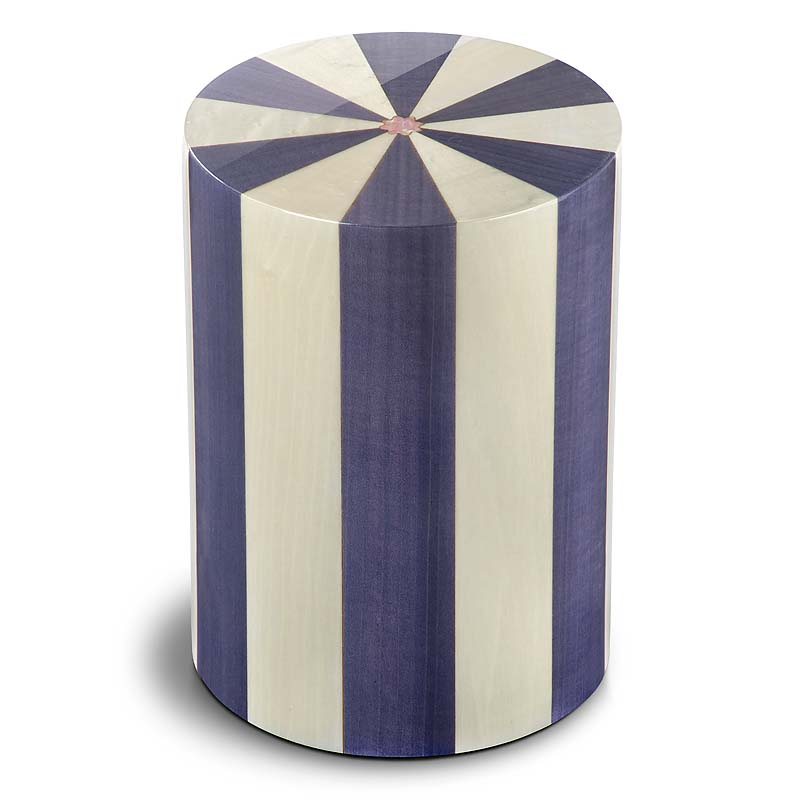 Cilinder Urn Pisa Viola (6 liter)