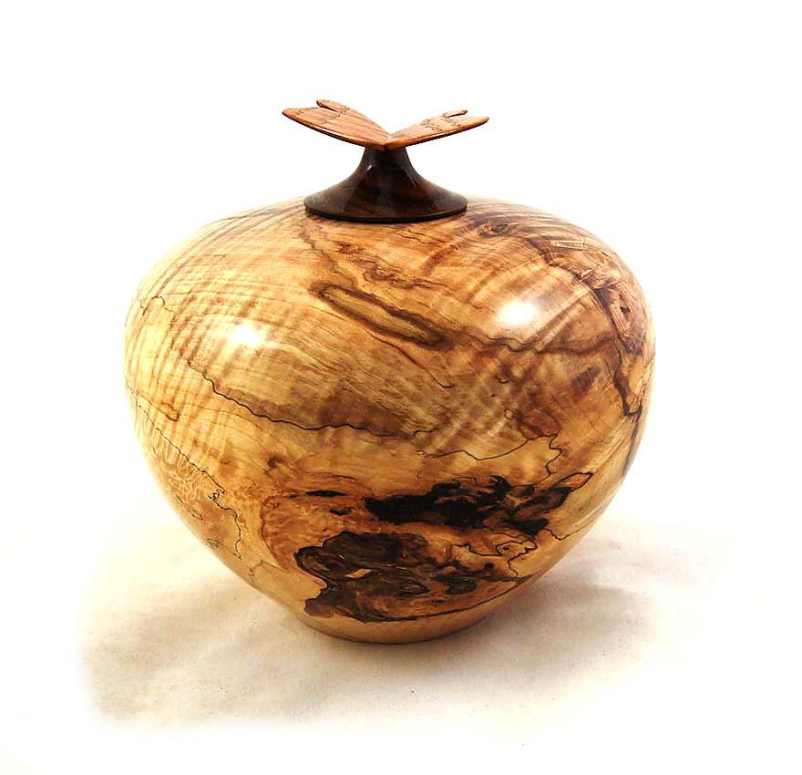 Herinneren in Hout Urn uit Kastanje (1.3 liter)