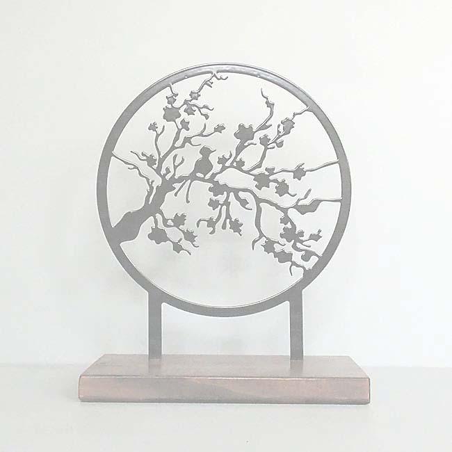 Staand Huisaltaar Herinneringstak Zwart of Wit (28 cm.)