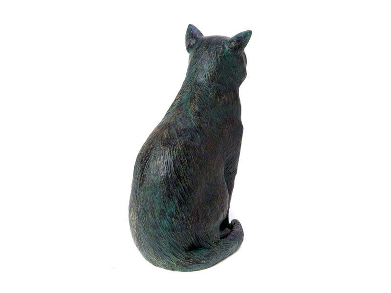 Grote Kattenurn of Asbeeld Zittende Kat (2.5 liter)