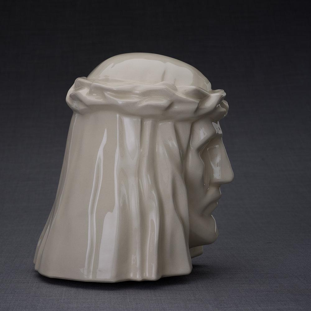 Keramische Crematie As Urn De Christus Transparant (5.1 liter)