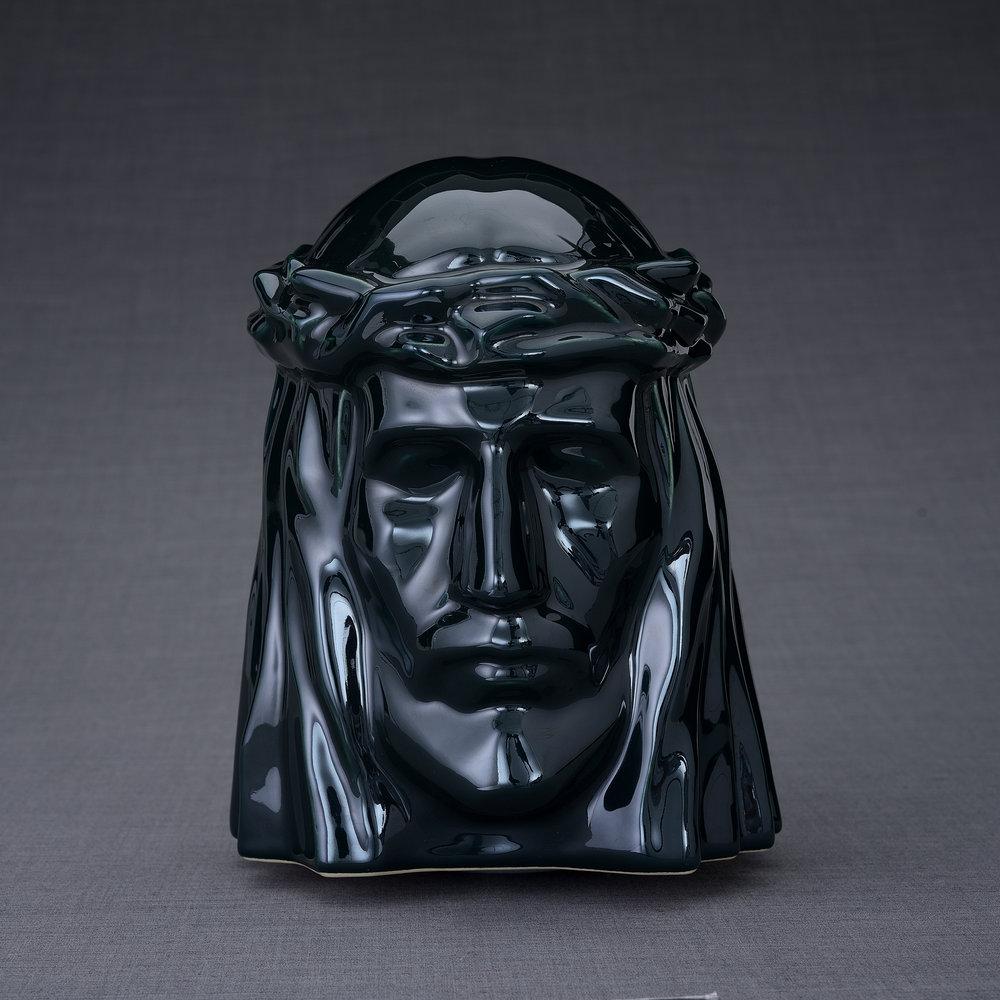 Keramische Crematie As Urn De Christus Oxide Green (5.1 liter)