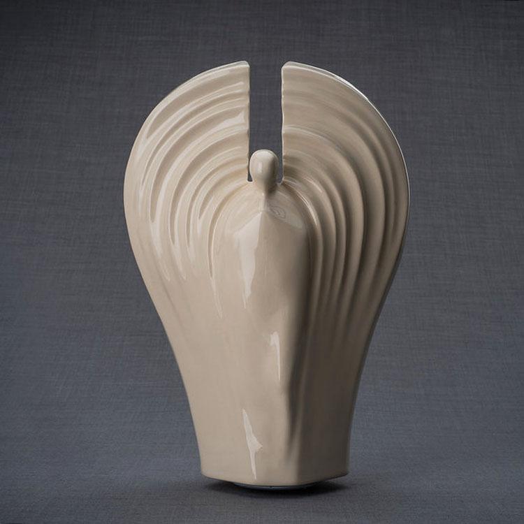 Keramische Crematie As Urn Guardian Transparant (3.2 liter)