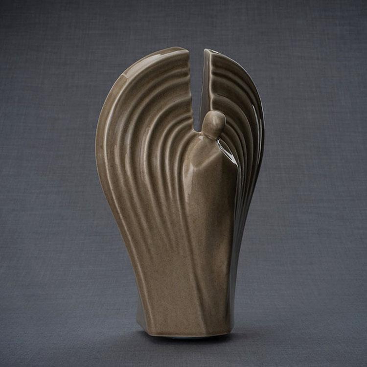 Keramische Crematie As Urn Guardian Beige (3.2 liter)