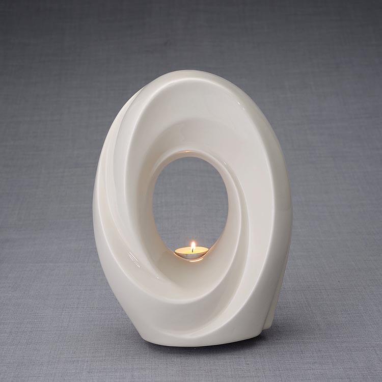 Keramische Crematie As Urn Passage Transparant (3.2 liter)