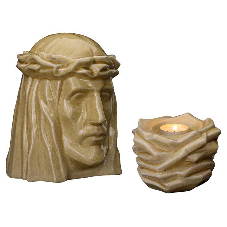 Art Urnen Voordeelset De Christus Light Sand (5.1 en 0.4 liter)