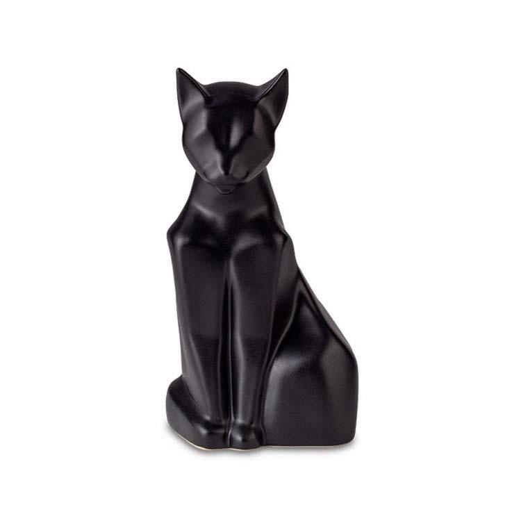 Zittende Kattenurn Blacky Matzwart (0.6 liter)