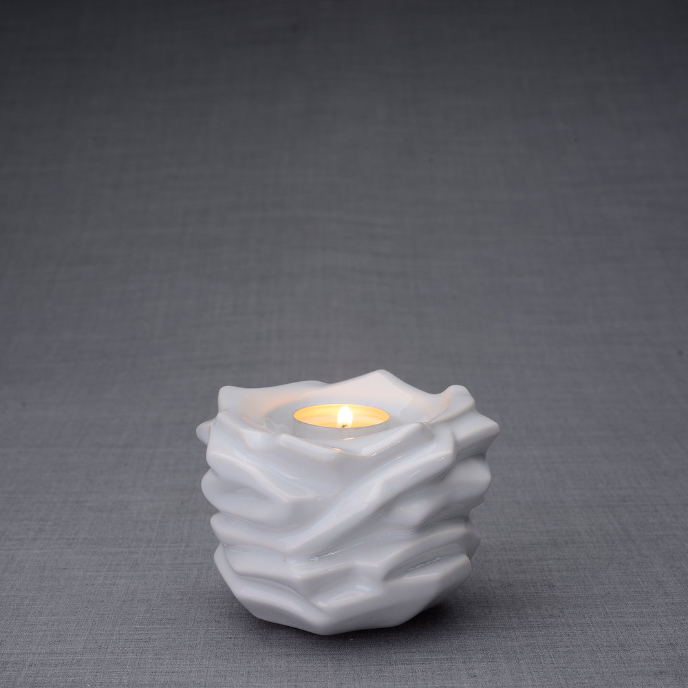 Art Urnen Voordeelset De Christus White (5.1 en 0.4 liter)