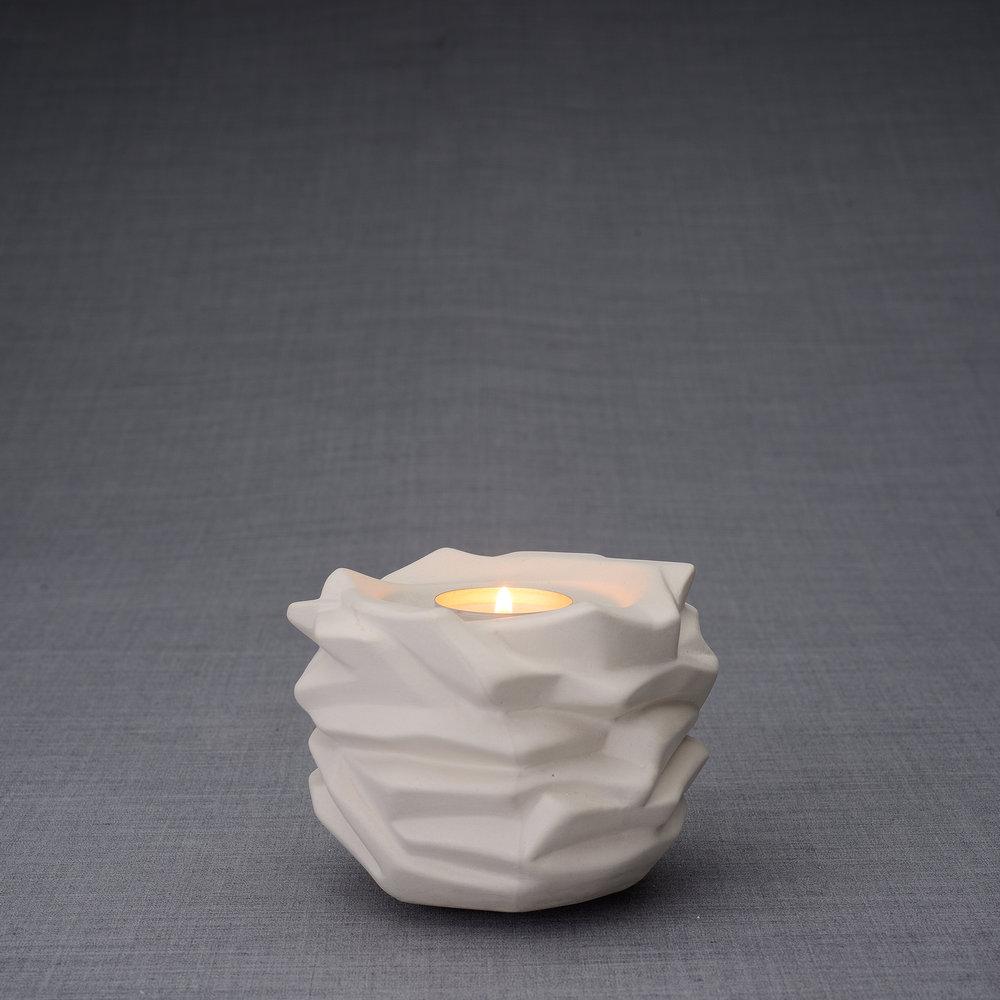 Keramische Mini Urn Heiland Ongeglazuurd (0.4 liter)