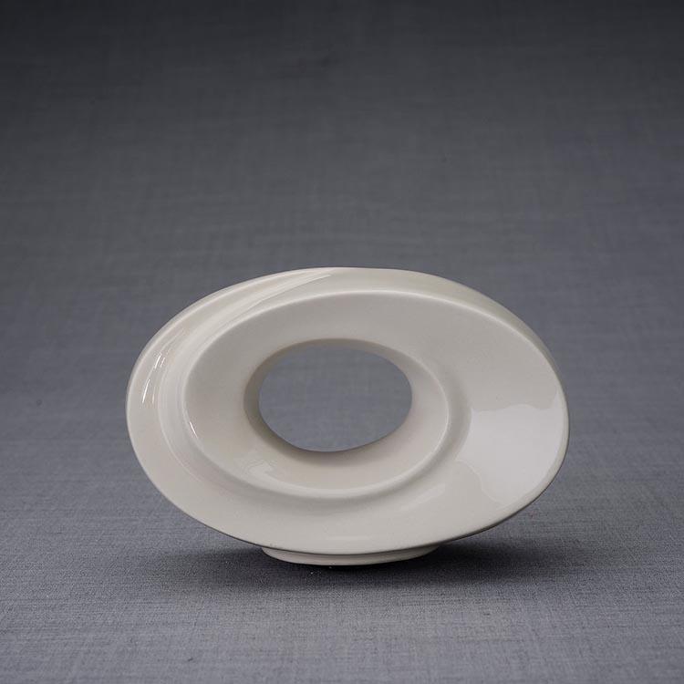 Keramische Mini Urn Passage Transparant (0.45 liter)