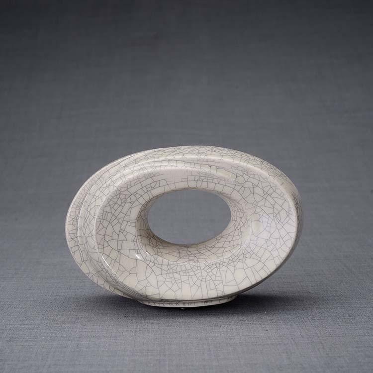 Keramische Mini Urn Passage Craquele (0.45 liter)