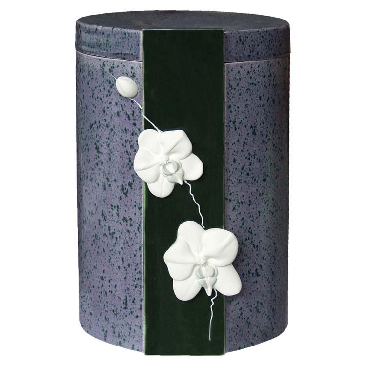 Keramische Urn met Orchidee (5 liter)