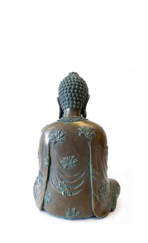 Amithaba Meditatie Buddha Dierenurn (0.8 liter)