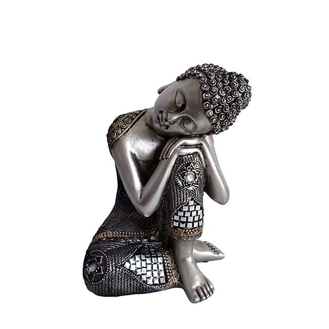 Kleine Buddha Urn Slapende Indische Buddha (0.4 liter)