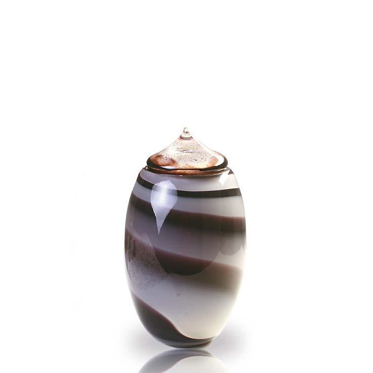 Middelgrote Glazen Urn Ymir OsirisBB (2 liter)
