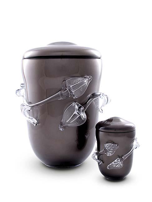 Kleine Boheems Kristalglazen Urn (0.4 liter)