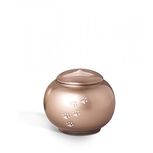 Kleine Bohemian Crystal Glazen Dieren urn (0.6 liter)