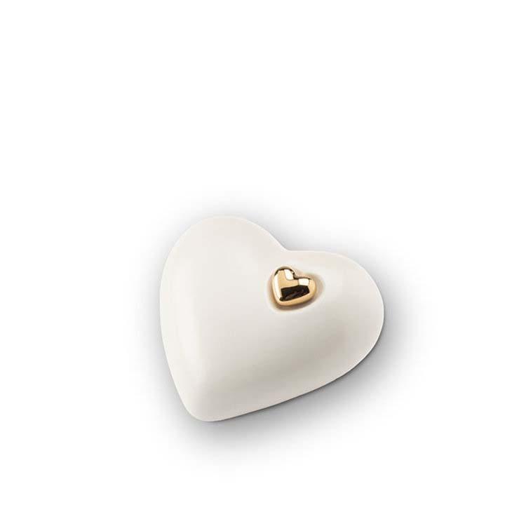 Kleine Keramische Hart Urn Matwit (0.7 liter)