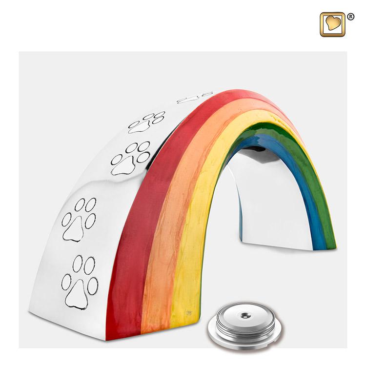 Kleine Dierenurn Rainbow Bridge (0.8 liter)