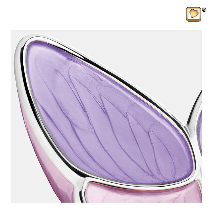 Kleine LoveUrns Butterfly Urn Roze (0.4 liter)