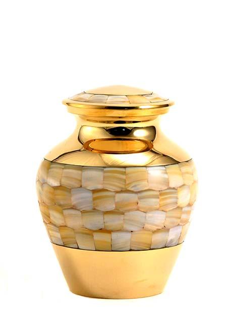 Kleine Mother of Pearl Elite Mini Urn (0.65 liter)