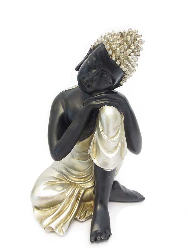 Kleine Buddha Urn Slapende Indische Buddha (0.5 liter)