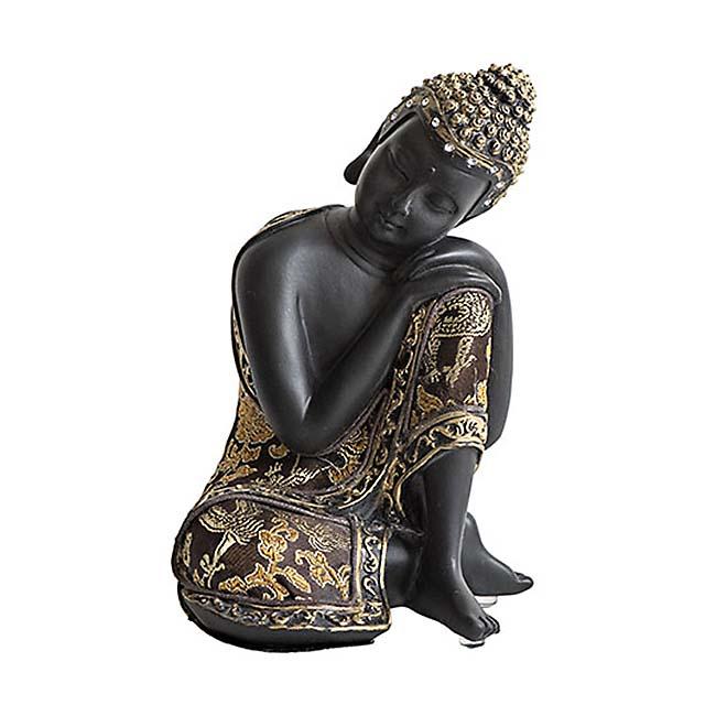 Kleine Buddha Urn Slapende Indische Buddha (0.7 liter)