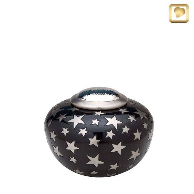 Messing Simplicity Pot Urn Sterren (1.8 liter)