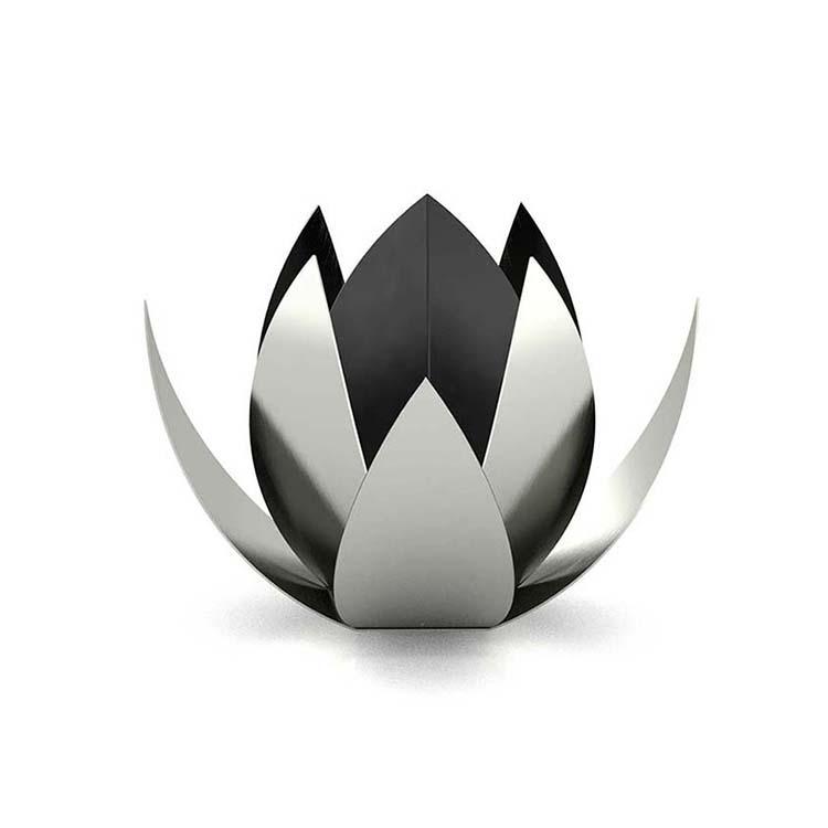 RVS Lotus Dieren Urn Small (0.6 liter)