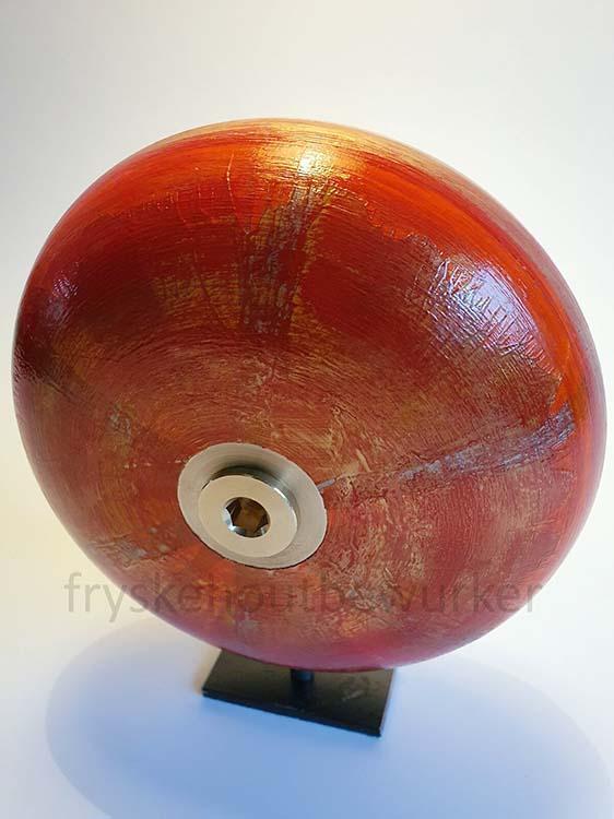 Kleine Kobus Red Design Urn op Sokkel (ca. 0.5 liter)