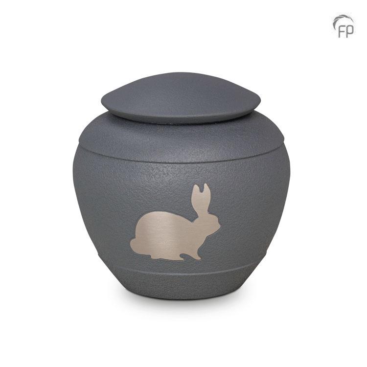 Silhouette Rabbit Shale Konijnen Urn (0.55 liter)