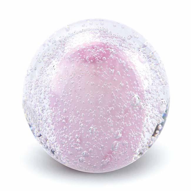 Glazen Mini Bal Dieren Urn Stardust Bulb Roze (0.08 liter)