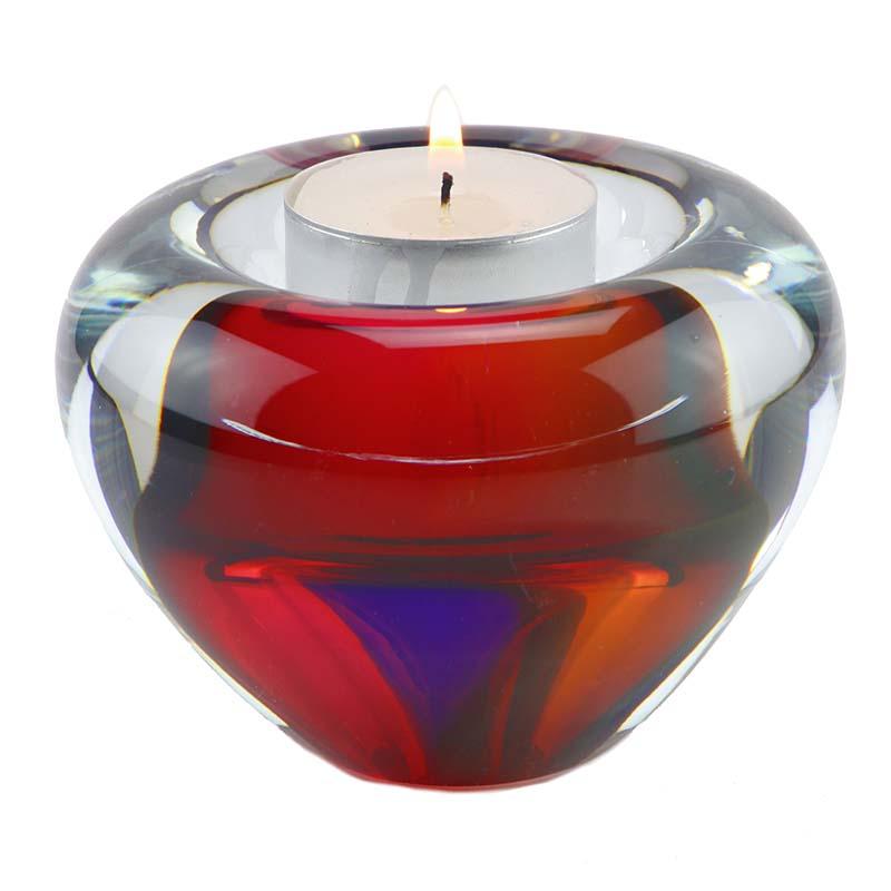 Kristalglazen Mini Urn met Waxinelicht (0.04 liter)
