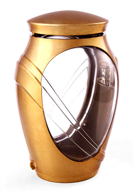 Bronzen Kamelia Design Graflantaarn