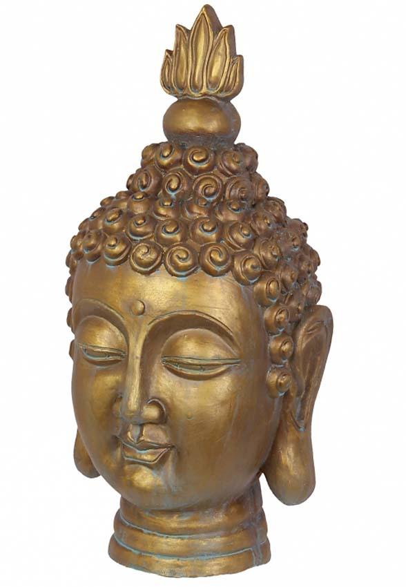 Thaise Boeddha Hoofd Urn Large (5 liter)