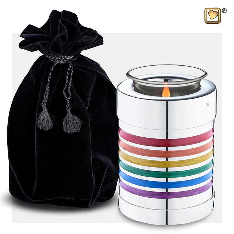 Urn met Waxinelichtje Pride (0.45 liter)