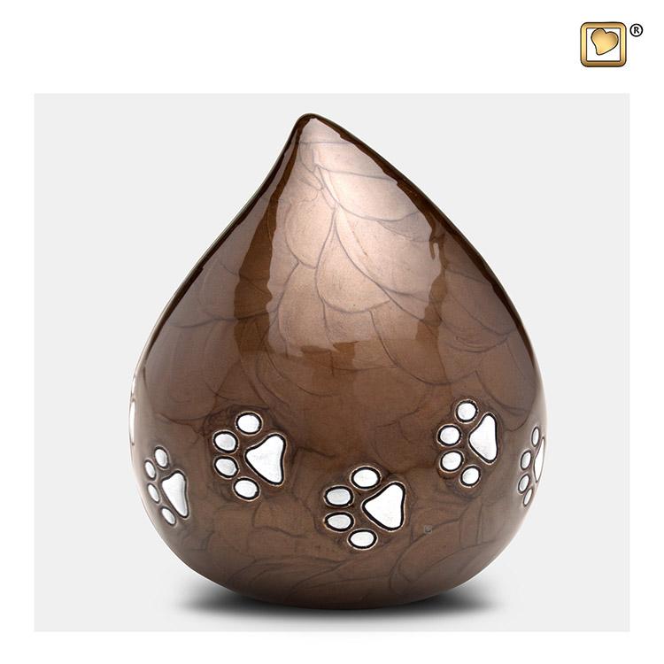 LoveDrop Dierenurn Bronze (1.1 liter)
