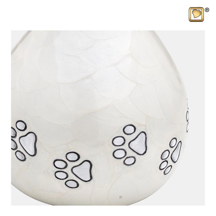 LoveDrop Dierenurn Pearlwhite (1.1 liter)