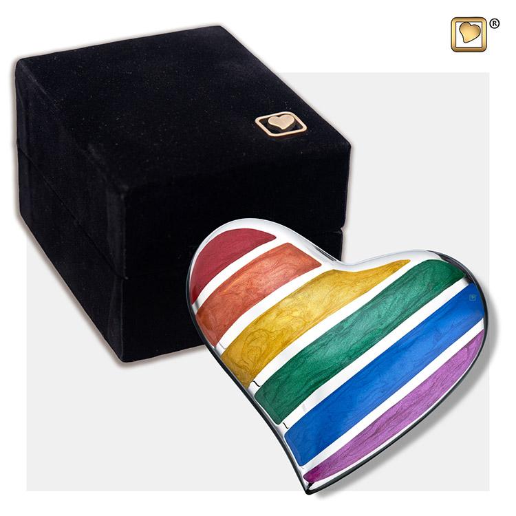 LoveUrns Design Hart Dierenurn Pride (0.05 liter)