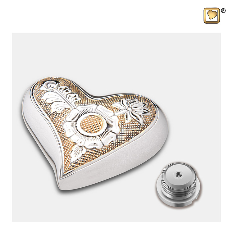 LoveUrns Design Hart Urn Bloem (0.05 liter)