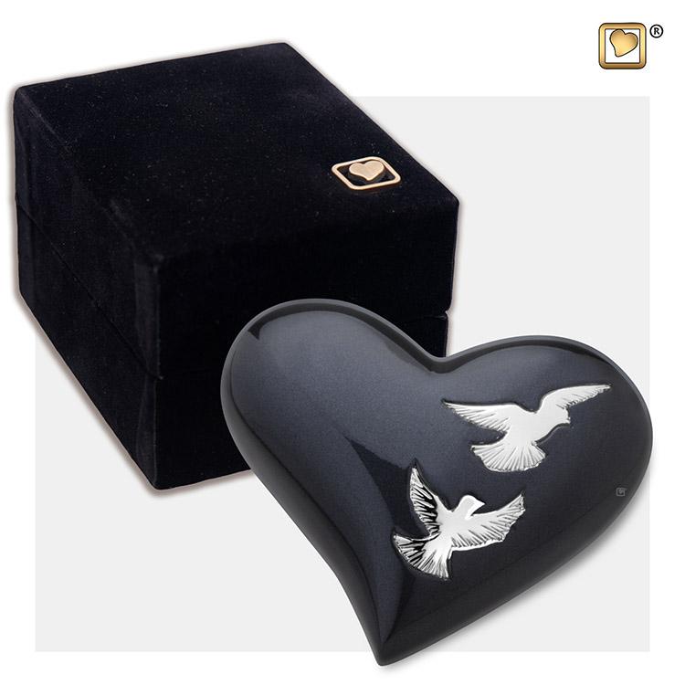 LoveUrns Design Hart Urn Nirvana Adieu (0.05 liter)