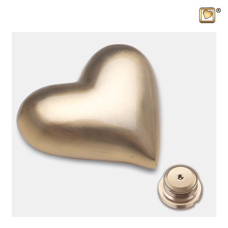 LoveUrns Design Hart Urn Matgoud (0.05 liter)