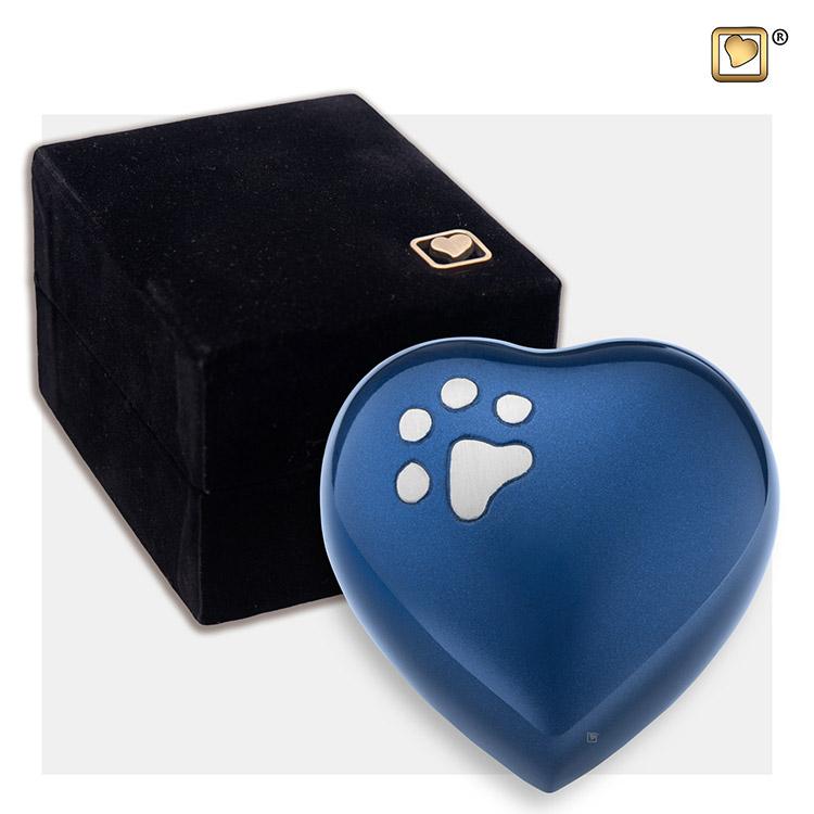 Mini Dieren Harturn Blauw, Matzilver Pootafdruk (0.045 liter)