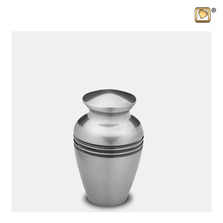 LoveUrns Radiance Miniurn Classic Silber (0.05 liter)