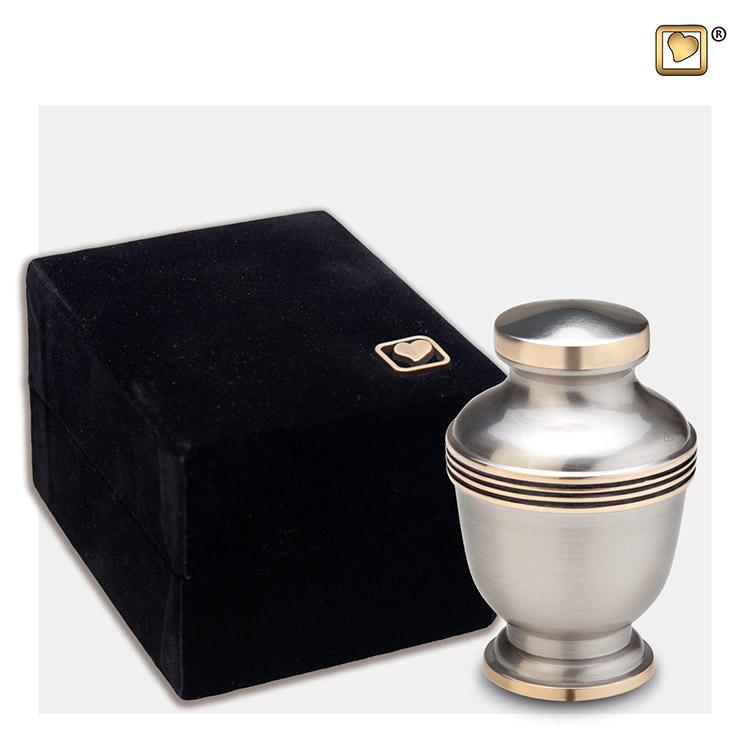 LoveUrns Mini Urn Tin - Gouden Sierranden (0.07 liter)
