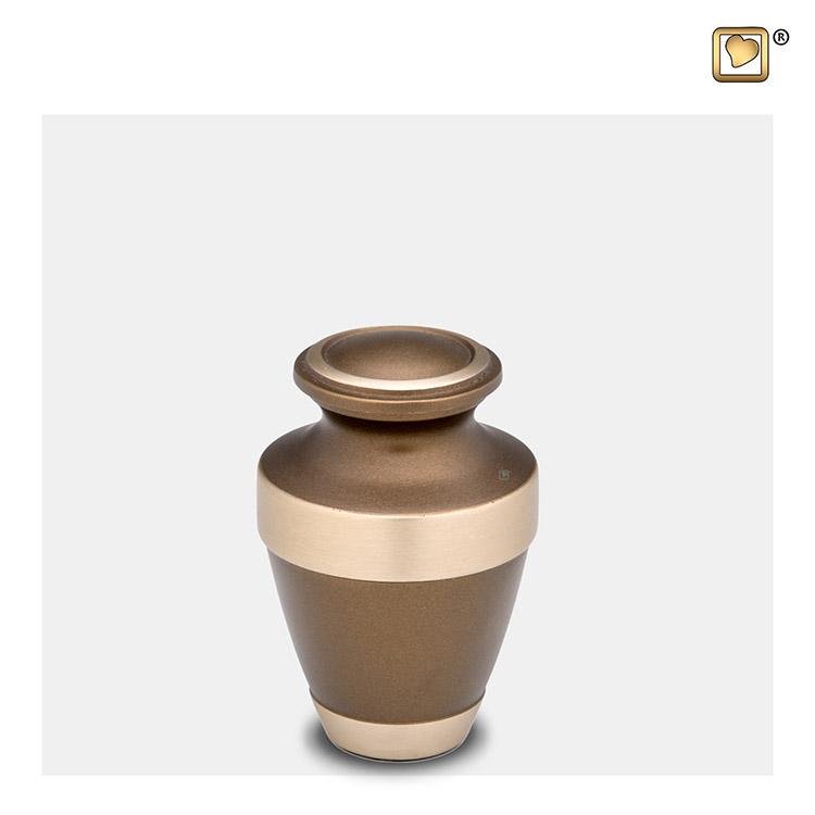 Mini Dierenurn Bronze - Sierrand (0.075 liter)